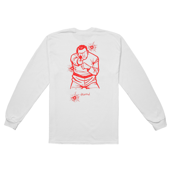 Bulletproof Long Sleeve - White - 4Hunnid