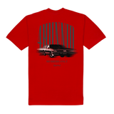 Fast Car Tee - Red 4Hunnid