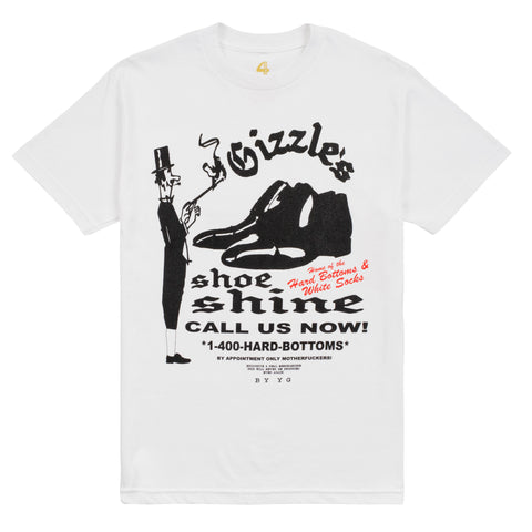 Gizzle's Hard Bottoms & White Socks Tee-4Hunnid