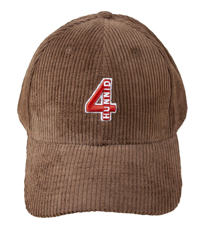 Corduroy Hat - Brown - 4Hunnid