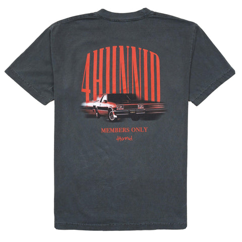 Fast Car T Shirt - Charcoal - 4Hunnid