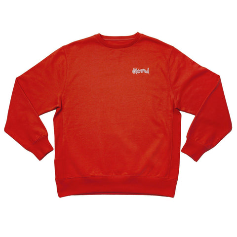 "4hunnid Hit Up ""KUT & SEW"" Crewneck - Red - 4Hunnid"