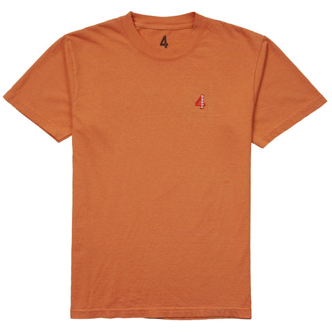 4 Patch T Shirt - Terracotta - 4Hunnid