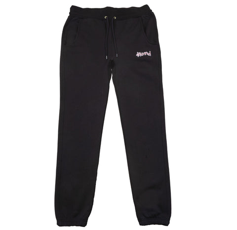 "Don't Sweat ""KUT & SEW"" Sweat Pants - Black-4Hunnid"