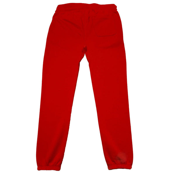 "Don't Sweat ""KUT & SEW"" Sweat Pants - Red 4Hunnid"