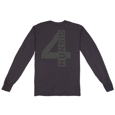 4hunnid Hit Up Long Sleeve - Washed Black