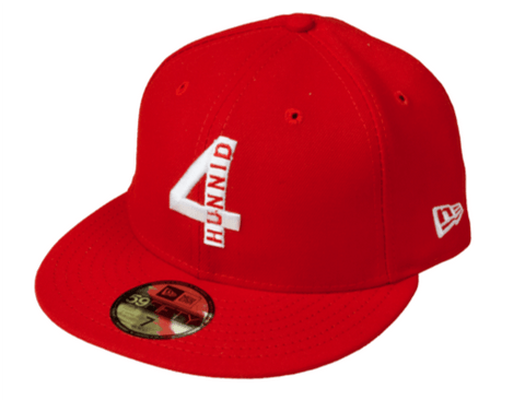New Era 4Hunnid Logo Fitted - 4Hunnid