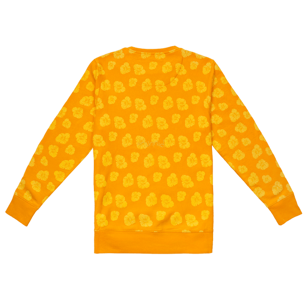 Poppy Crew Fleece - Mustard-4Hunnid