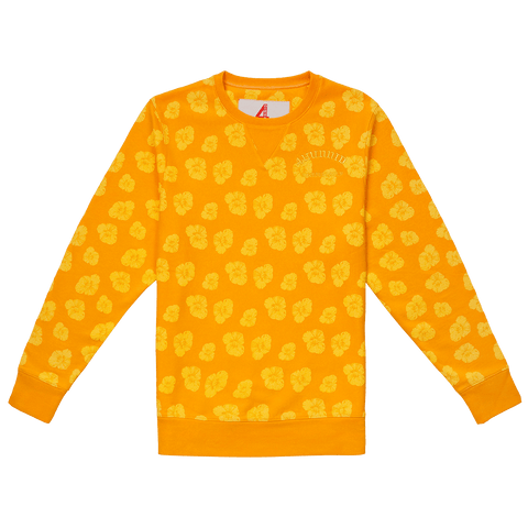 Poppy Crew Fleece - Mustard 4Hunnid