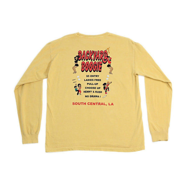 THE BOOGIE LONG SLEEVE - MUSTARD