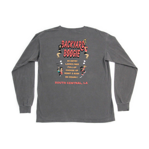 The Boogie Long Sleeve - Black - 4Hunnid