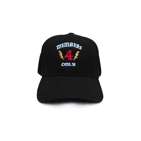 Members Only Hat - Black 4Hunnid