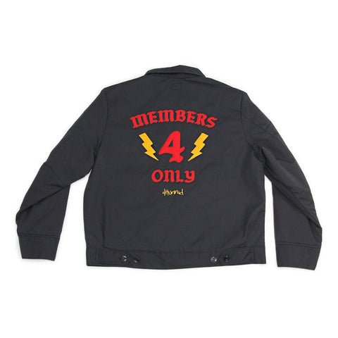 Members Only Worker Jacket - Black - 4Hunnid