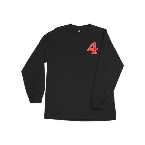 MEMBERS ONLY LONG SLEEVE - BLACK - 4Hunnid