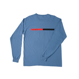 4Hunnid Box Long Sleeve - Denim - 4Hunnid