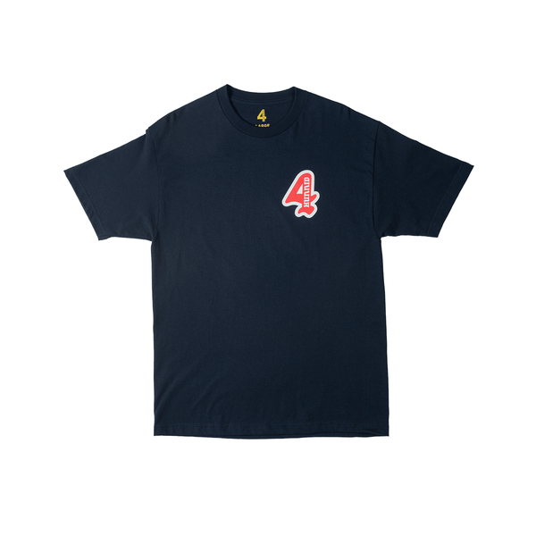 Grand 4 Tee - Navy - 4Hunnid