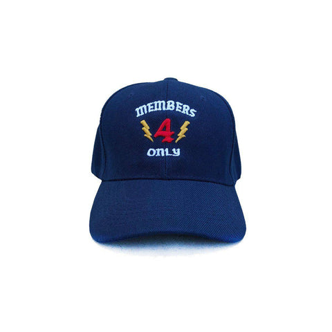 Members Only Hat - Navy 4Hunnid