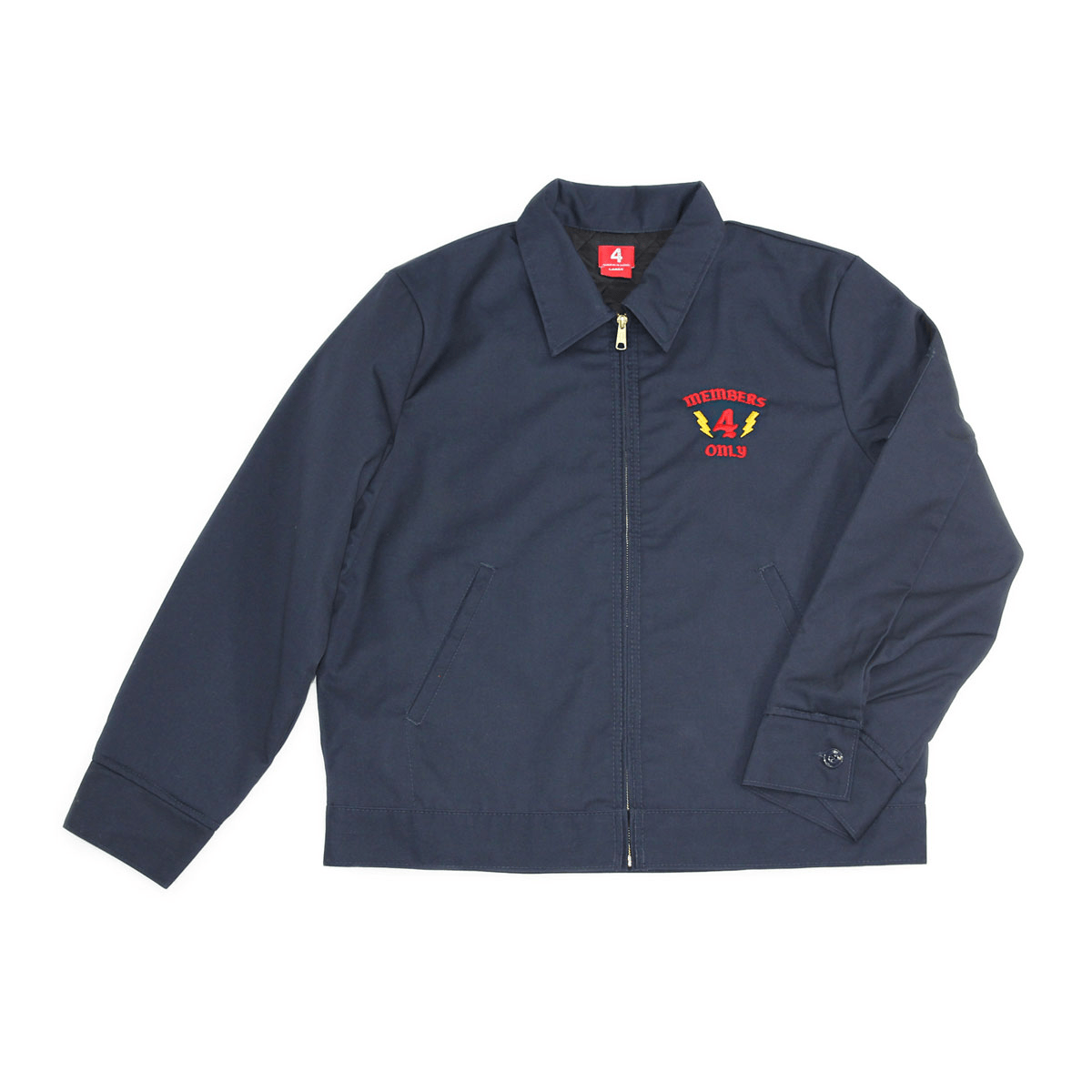 members only worker jacket navy 4hunnid shop