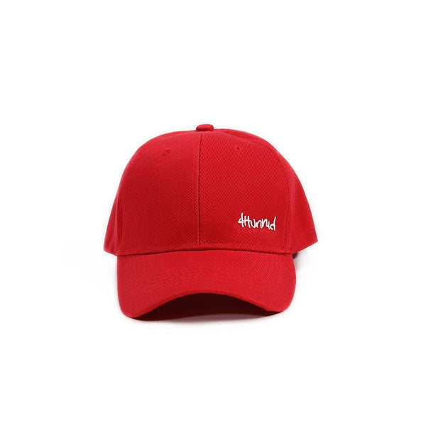 Baby Hit Up Logo Hat - Red - 4Hunnid