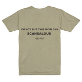Scandalous World Tee - Natural