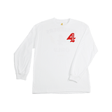Members Only Long Sleeve - White - 4Hunnid