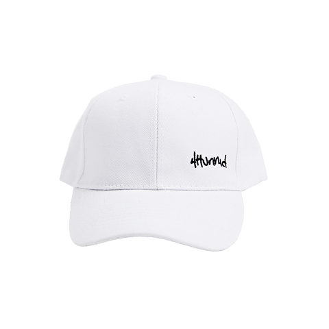 Baby Hit Up Logo Hat - White - 4Hunnid