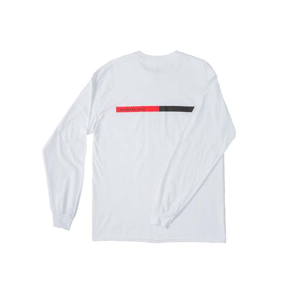 4Hunnid Box Long Sleeve - White - 4Hunnid