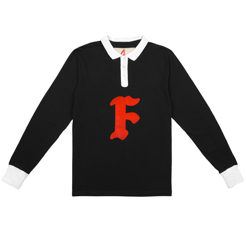 F Polo Long Sleeve - 4Hunnid