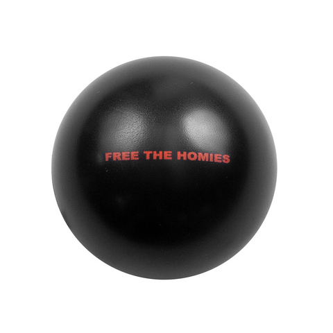 Free the Homies Stress Ball - Black-4Hunnid