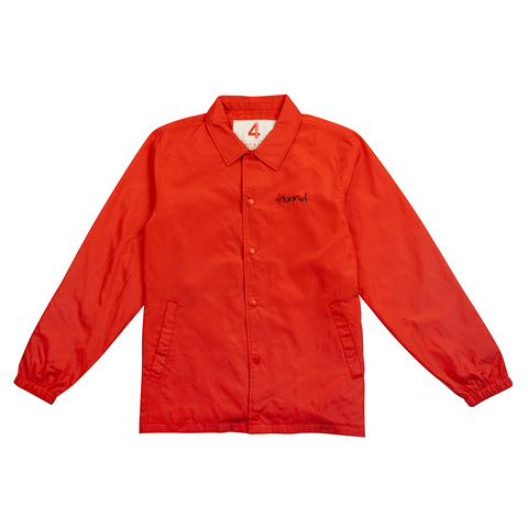 Free the Homies Nylon Jacket - Red-4Hunnid