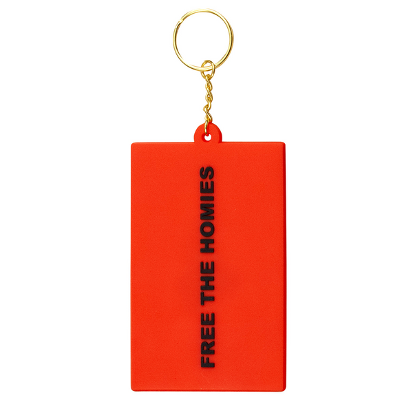 Free the Homies Keychain - Red-4Hunnid