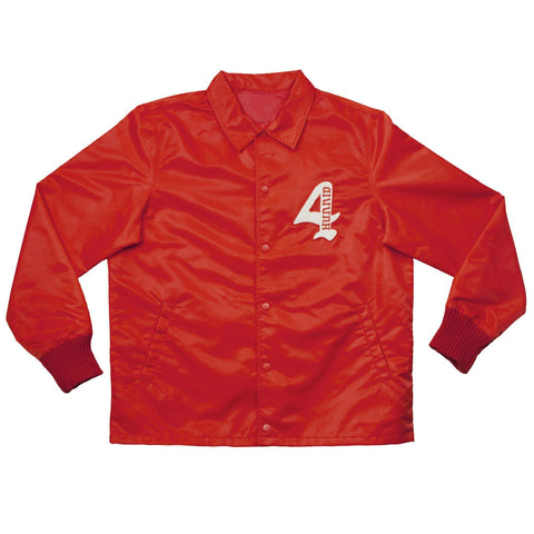 "Members Only ""KUT & SEW"" Coach Jacket - Red - 4Hunnid"
