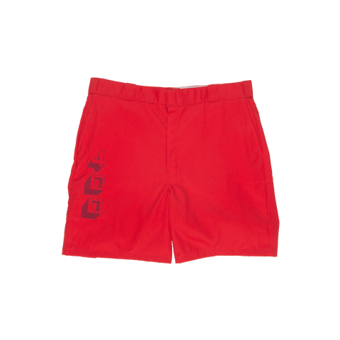 Gang Member Shorts - Red - 4Hunnid