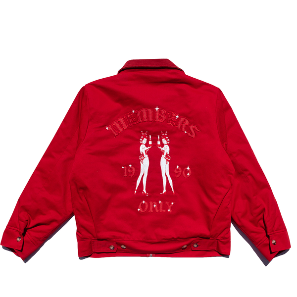 Members Only Red Jacket - 4Hunnid