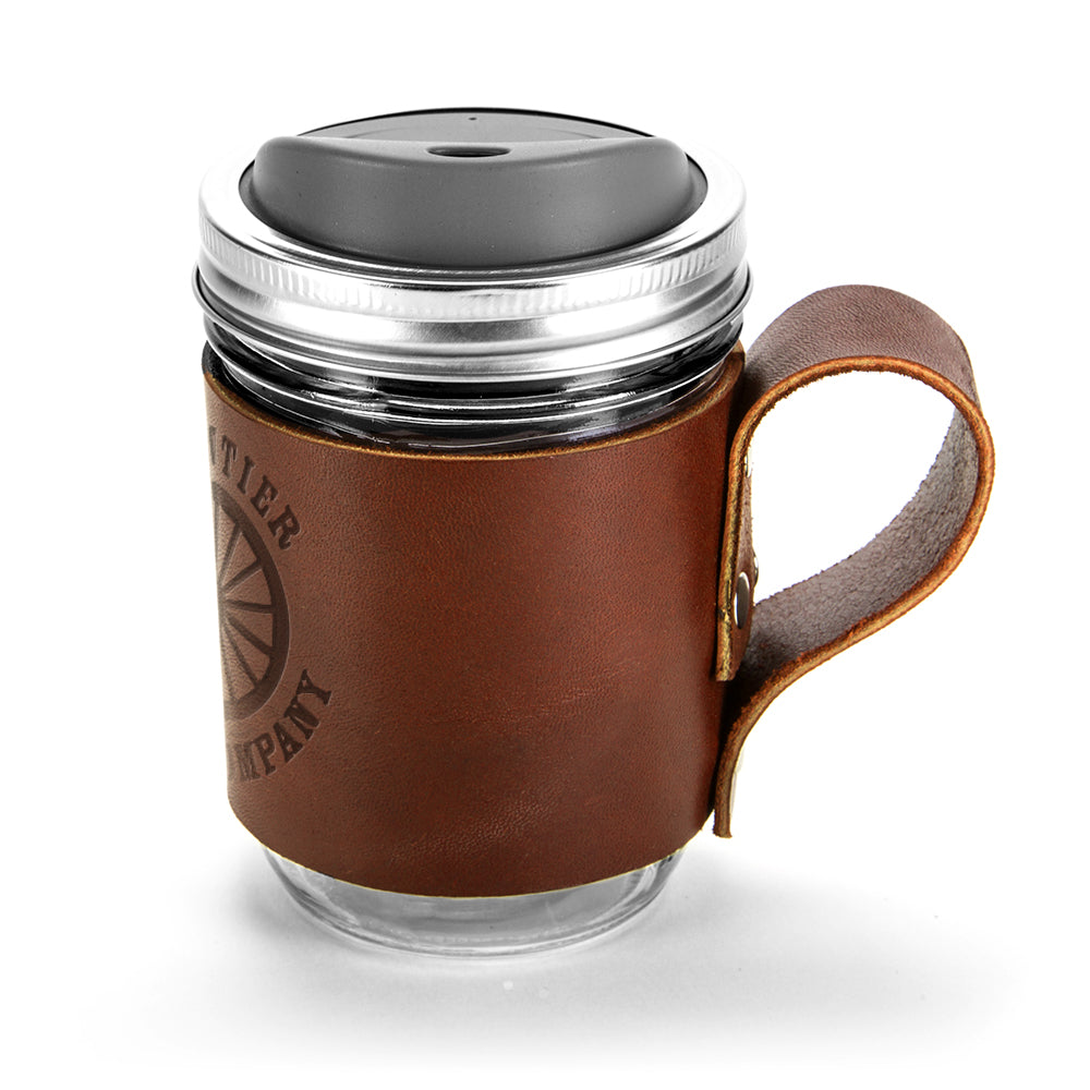 Handcrafted Leather Mug