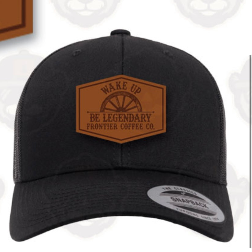 Wake Up & Be Legendary Trucker