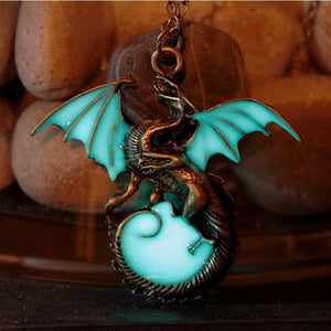 Product Review: Glow In The Dark Dragon Necklace