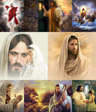 Jesus DIY Diamond Painting Mosaic Kits in 8 Variations