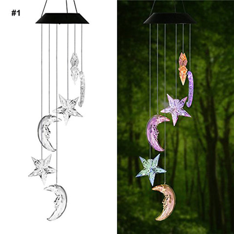 Solar Powered Outdoor Spiral Light (9 Styles)