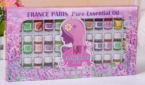 Set of 36 Fragrance Oils for Oil Warmers, Diffusers, Humidifiers: 12 Scents