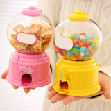 Mini Personal Candy Dispensers & Optional Piggy Bank in 5 Colors