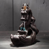 Dragon Backflow Incense Burner for Backflow & Stick Incense: Gorgeous!