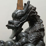 Smoldering Dragon Ceramic Backflow Incense Burner w/Fine & Elaborate Detail