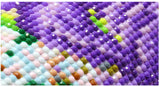 5D DIY Diamond Mosaic Embroidery Art Project Kit in Many Sizes!