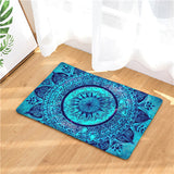 3D Printed Non-Slip, Padded, Mandala Floor Mats: 20 styles, 2 sizes