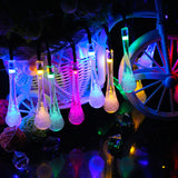 LED Bubble Drop String Lights (Multicolored)