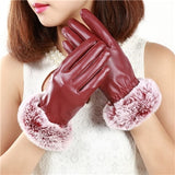 Supple Faux Leather Gloves & Fur Lining: 6 Varieties