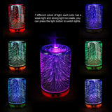 3D Color Changing Ultrasonic Aromatherapy Humidifier & Essential Oil Diffuser (3 shapes)