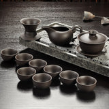 Gonfu Ceremonial Tea Sets (2 colors, 6 sizes)