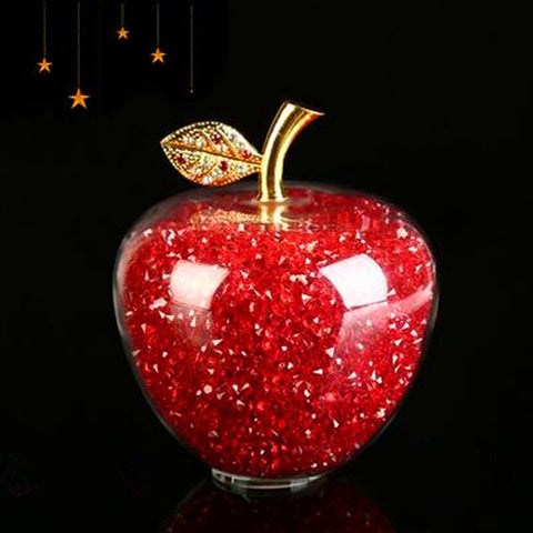 Back to School Glass Apple (8 colors)